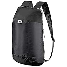 QUECHUA Ultra Compact Collapsible 10 Litre Small Hiking Backpack / Rucksack for Camping Outdoors Festivals -