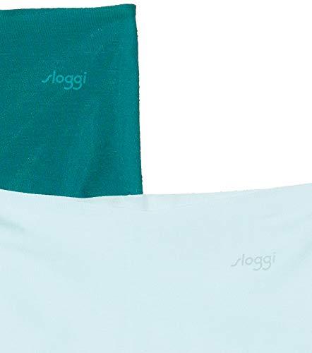 Sloggi Damen Zero Modal H Short Panties, Blau (Blue-Dark Combination M008), No Aplica (Herstellergröße: M) (2er Pack) - 2