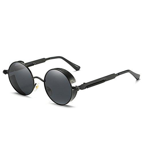 Polarisierte Herren Retro Sonnenbrille Polarisierte Outdoor Sportbrille 100% UV400 Schutz Fahren Sonnenbrille