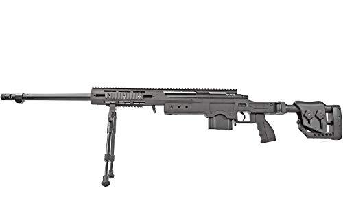 Softair Vollmetall Pistolen Colt Browning Walther Heckler & Koch Beretta BGS Combat Zone uvm. Airsoft Kugeln Elite Force Munition Premium Qualität aus Deutschland von ETU24 (Defender M4412B Sniper)