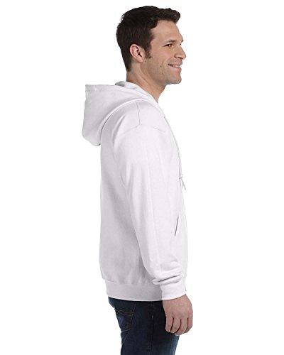 HeavyBlend ™ full zip sweat à capuche Blanc