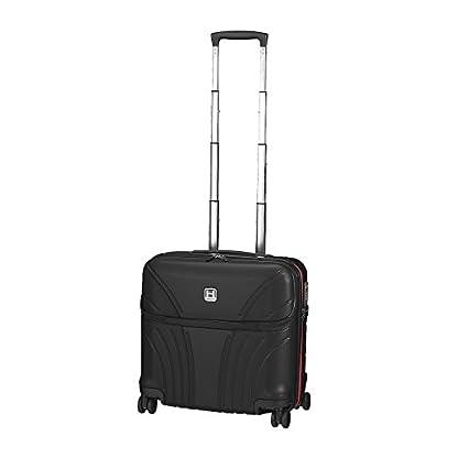 Hedgren HFO06W / 779-01 Fórmula Uno maleta, 42 cm, 38 litros, Negro / combo Red