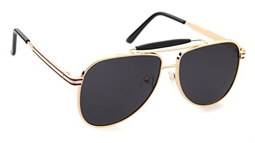 Herren Sonnenbrillen Metallrahmen Mode Kröten Sonnenbrillen Drive Sonnenbrillen c1 (Erwachsene Kröte Kit)