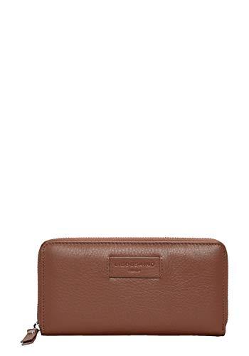 Liebeskind Berlin Damen Essential Sally Wallet Large Geldbörse, Braun (Bourbon), 2x9x19 cm