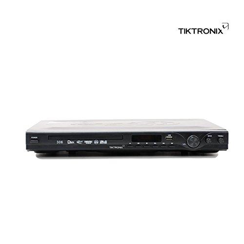 Tiktronix DVD Player with USB & SD Card Reader