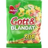 15x MALACO GOTT & BLANDAT SURT SAUER 450g Incl. Goodie von Flensburger Handel