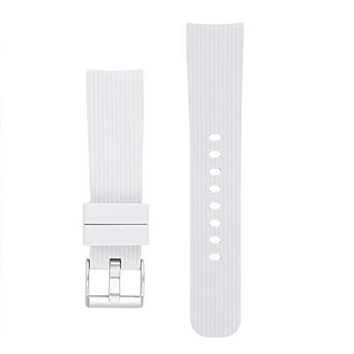 Ingeniously 20mm uhrenarmband für Galaxy Watch s4 42mm & Gear 2 wasserdicht und atmungsaktiv universal silikon sportuhr Band Armband für männer und Frauen
