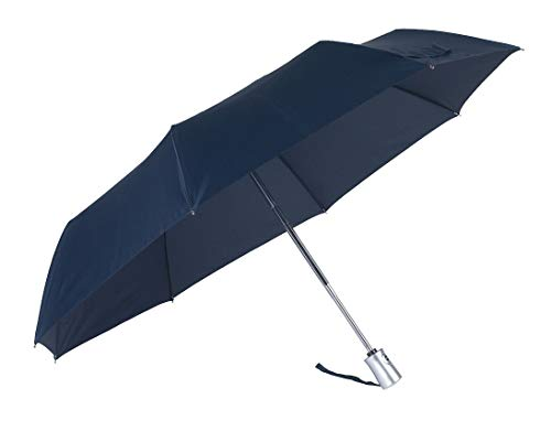 SAMSONITE Rain Pro - 3 Section Auto Open Close, Parapluie Pliant, 29 cm, Bleu (Blue)