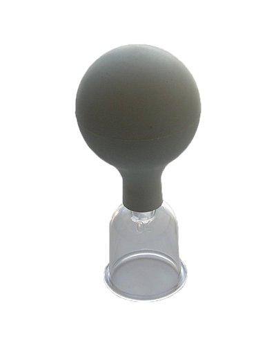 Schröpfkopf mit Gummiball für Massage 35 mm – Leonidov