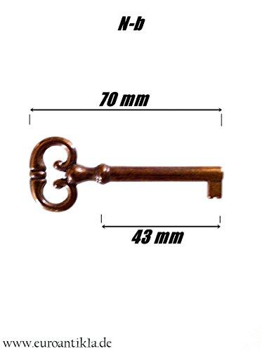 Einsteckschloss mit Schlüssel (N-b, 50mm)