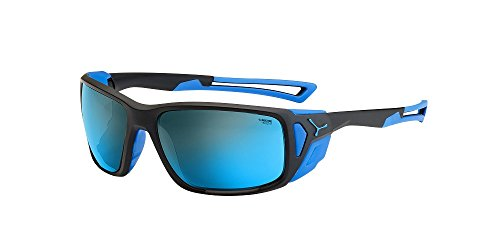 Cébé Proguide Gafas, Unisex Adulto, (Matt Black Blue), L