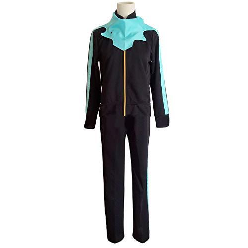 qingning Noragamie Yeto Sportbekleidung Cosplay Uniform Anzug Mantel Jacke Hose Japanischer Anime Halloween Kostüm (X-Large, Yeto Sportbekleidung)