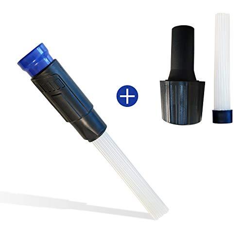 Universal Staubsaugeraufsatz, Reinigungswerkzeug, Staubsaugerbürste, Aufsatz Pinsel, Staubsauger Düse