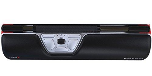 Rollermouse Re:d Ergonomie Design 8 Maus silber/schwarz/rot