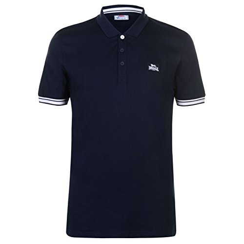 Lonsdale Mens Jersey Polo Shirt
