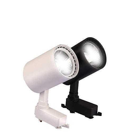 LIXDD Moderna faretti a Binario Luminoso per faretti a Binario Faretti per lampade a Binario Faretti per lampadari per Negozio Shop Mall Esposizione per faretti a soffitto