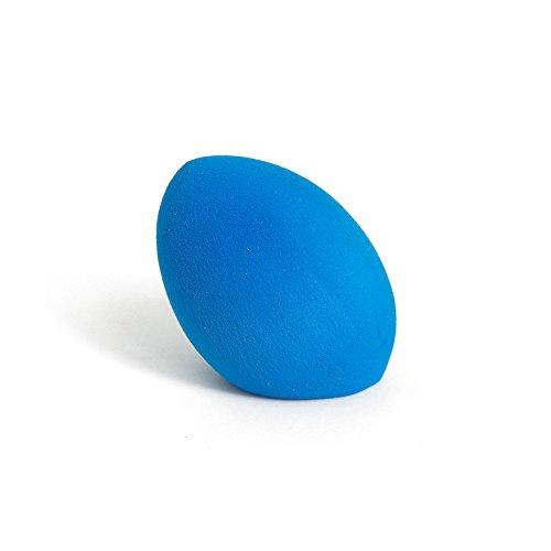 Cinlla Pro Maquillage Houppettes à poudre Éponge Puff Beauté Flawless Maquillage De Mariage Blender Fondation Oeuf Forme Cut Bord Éponges Cosmétiques Outil - Bleu