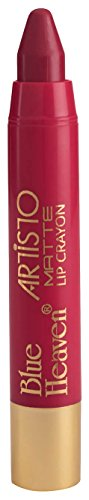 Blue Heaven Artisto Velvet Matte Lip Crayon, Princess Light Maroon, 3.2g