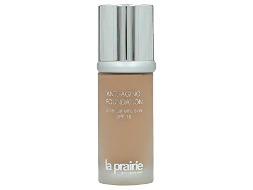 La Prairie Anti-Aging Foundation SPF 15 unisex, Foundation 30 ml, Farbnummer: 500, 1er Pack (1 x 0.175 kg) (30 Anti-aging Foundation Spf)