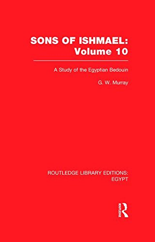 Sons of Ishmael (RLE Egypt): A Study of the Egyptian Bedouin: Volume 10 (Routledge Library Editions: Egypt)