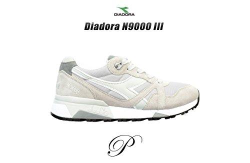 Diadora N9000 Iii, Sneaker Basses Mixte Adulte, Bleu Gris