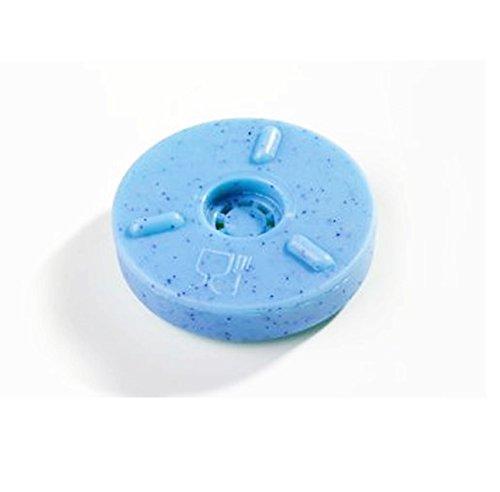 Magnetring für Spülkasten - Dauerschutz gegen Kalk und Bakterien - Toilettenspülkasten - Toilette - WC - Klo - Anti-Kalk-Ring - Anti Kalk - Blau - ∅ 5 cm