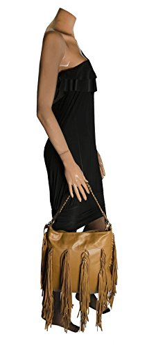 Big Handbag Shop - Borse a spalla donna (Black (KL209))