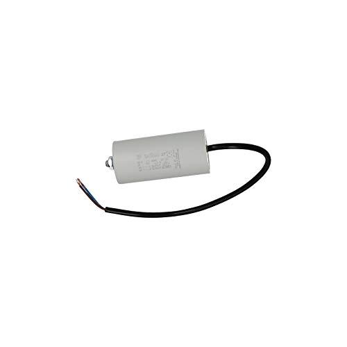 Universal Kondensator Anlaufkondesator 40µF 450V mit Kabel Befestigungsschraube