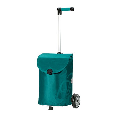 Andersen Shopper Unus mit Tasche Pepe 39 Liter türkis