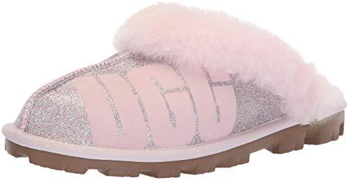 UGG Pantoletten Coquette Sparkle 1098190 Seashell pink, Größe:41 EU