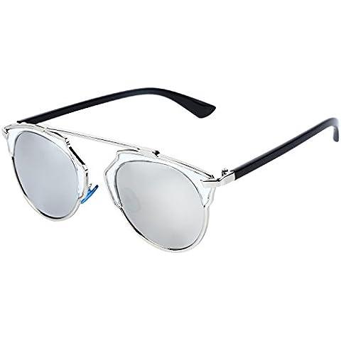 OUTEYE Gafas del Sol Sport UV400 Vintage Retro Viaje Caballero Mujer Unisex