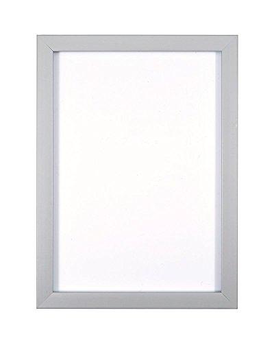 Grau- 7 x 5 Zoll - Regenbogenfarbiger Bilderrahmen/Foto-/Posterrahmen -mit Einer Rückwand aus MDF - aus bruchsicherem Plexiglas aus Styrol für hohe Klarheit -