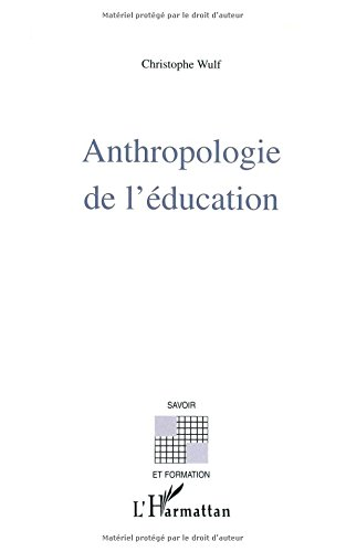 Anthropologie de l'éducation