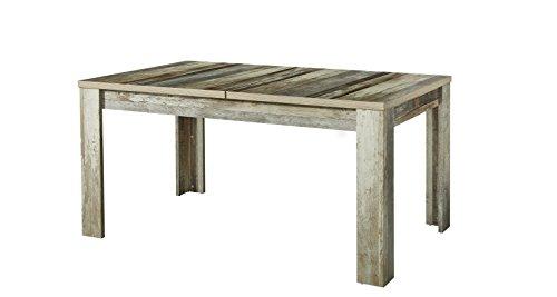 Stella Trading Bonanza Esstisch, Holz, braun, (B/H/T) 160-240 x 76 x 90 cm