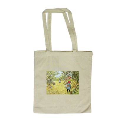 the-apple-harvest-by-carl-larsson-long-handled-shopping-bag