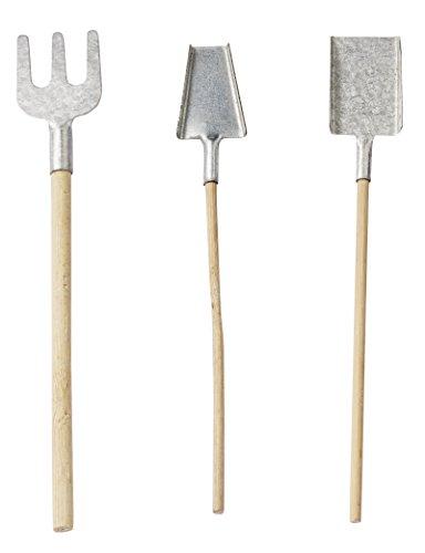 Werkzeug-Set a 3 St. ca. 13 cm (Miniatur-schaufel)