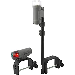Attwood 14180-7 Portable LED Light Kit with Marine Grey Finish (Clamp-On) by Attwood Marine Products
