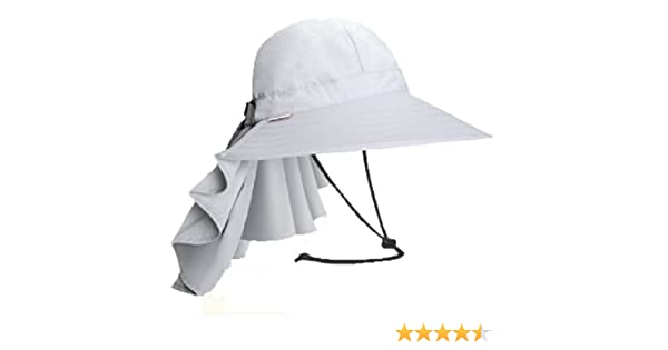 7fe5d98d37a Santo Outdoor Women s Quick Drying Hat Sun Hat Uv Protection Waterproof Cap  (Gray)  Amazon.co.uk  Sports   Outdoors