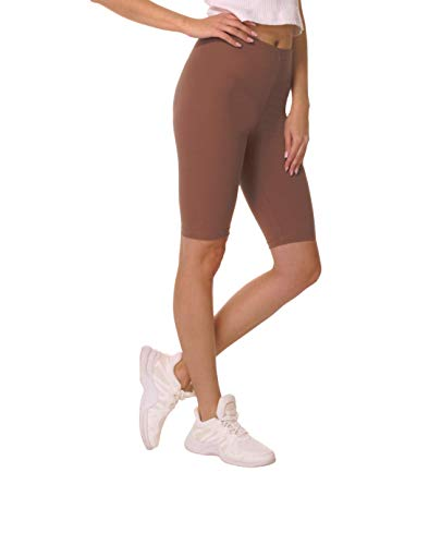 BeComfy Pantalones Cortos Mujer Polainas Leggings