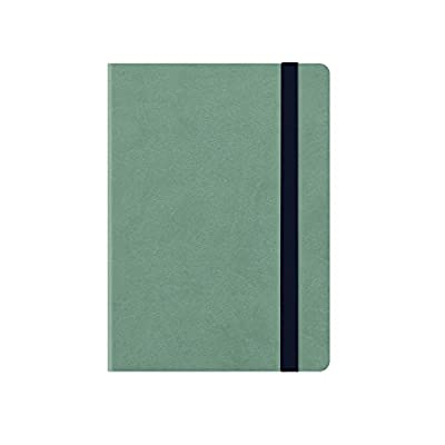 petrol blue Medium weekly diary with notebook 18 mesi 2019//2020