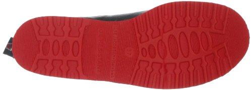 Ilse Jacobsen Kurzer RUB33, Stivali di gomma donna Multicolore (Mehrfarbig (Schwarz Rot (0130)))