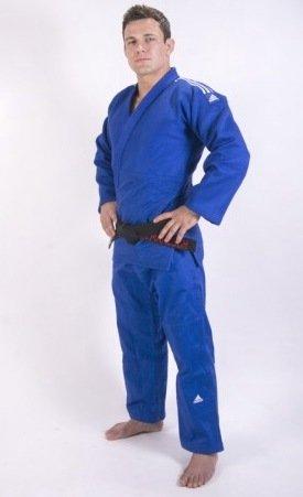 Kimono de judo adidas champion II bleu IJF 2015