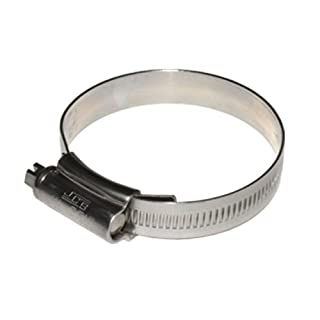 1 x JCS HI-GRIP HOSE CLIPS SIZE 70 STAINLESS STEEL 50-70mm JUBILEE TYPE 3 by All Trade Direct