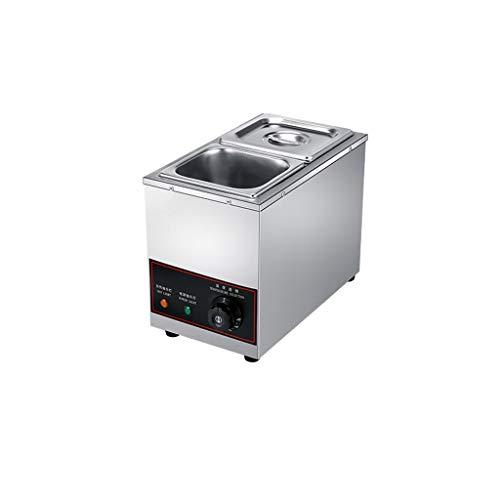 Fundidor de chocolate con calefacción de doble cilindro, horno de crema de...