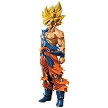 Banpresto - Figurine DBZ Master Stars Piece - Son Goku Super Saiyan Manga Dimension 29cm - 3296580262977