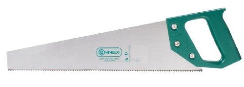 Connex COX809045 Scie égoïne avec poignée en matière plastique 7 dents par pouce 450 mm