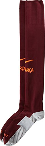 2017-2018 Barcelona Nike Third Socks (Night Maroon)