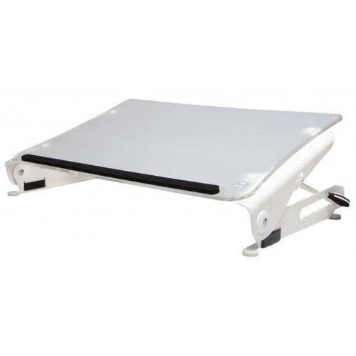 R-Go Tools Clear Slope Profesional Soporte de documentos - Archivador (Color blanco, 320 mm, 580 mm, 102 mm, 2,43 kg, 390 mm)
