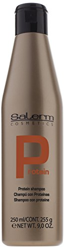 Salerm Protein Shampoo, 9 oz (250ml) by Salerm - Salerm Protein