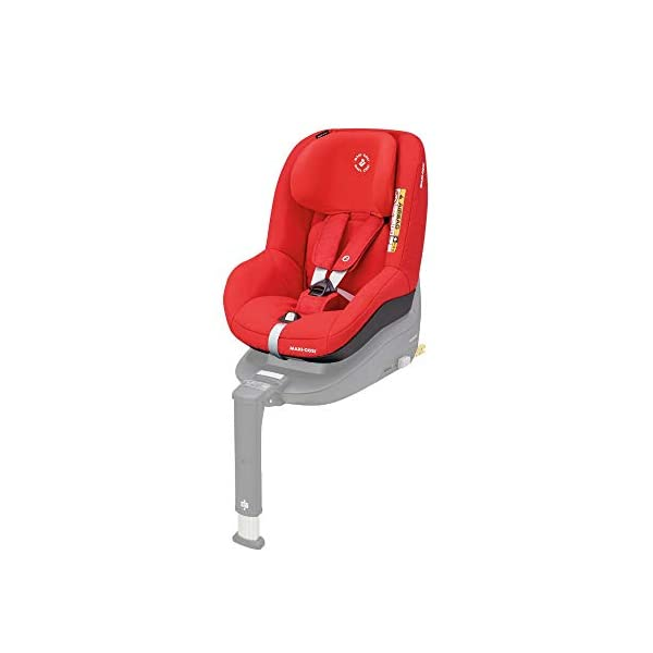 Maxi-Cosi Pearl Smart i-Size Toddler Car Seat, 6 months - 4 years, 9 - 18 kg, 67 - 105 cm, Nomad Red Maxi-Cosi Car seat for toddlers, suitable from 6 months to 4 years (9-18 kg, 67-105 cm) Must be installed in combination with family fix one i-size base i-Size (R129) car seat legislation, due to rearward-facing travel up to 105 cm (4 years) 1